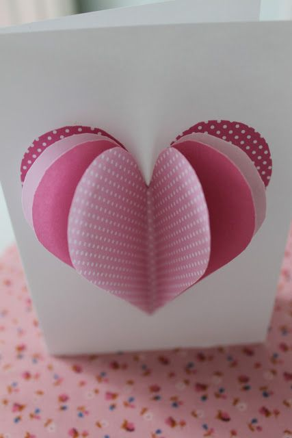 Fun 3D Valentine/anniversary/wedding card