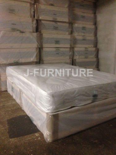 4ft-Small-Double-Divan-Bed-Medium-Firm-Mattress-22cm-TOP-PRICE