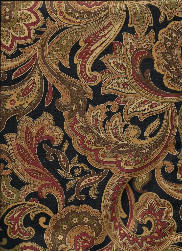 21 Best Images About Paisley Print Amp Woven Weaves Fabric