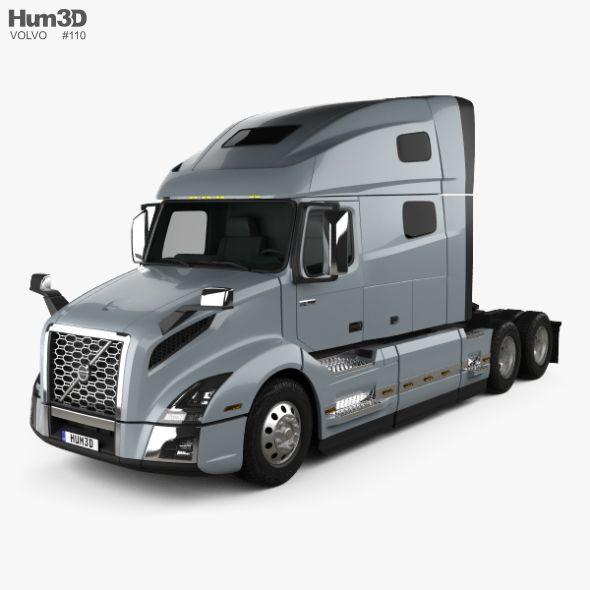 2018 Volvo Truck >> Volvo Vnl 760 Tractor Truck 2018 Ad Vnl Volvo Truck