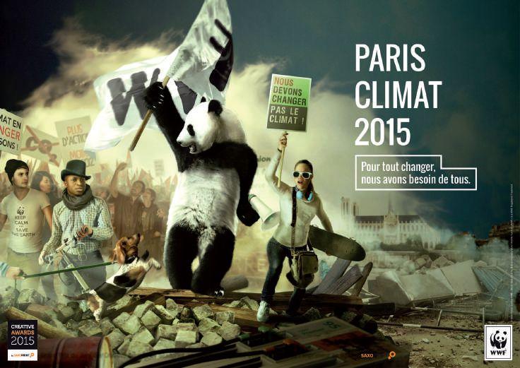 Publicité - Creative advertising campaign - WWF: Pour tout changer, nous avons besoin de tous