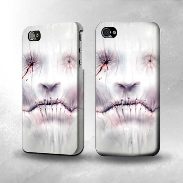Scary gifts at DaWanda - Graphic Printed Hard Case For IPHONE 4, 4S. Hard Case Cover For IPHONE 4, 4S - Graphic Printed Design Including Sides and Corner - via en.dawanda.com