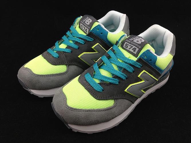 Los 2013 zapatos genuinos / 574 Corea Compras nb zapatos deportivos New Balance hombres