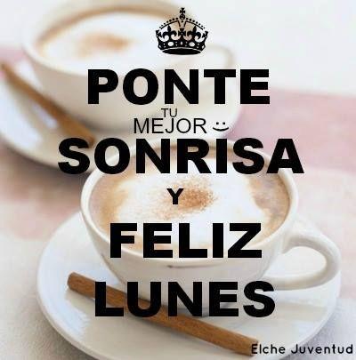 Lunes con café y sonrisas.