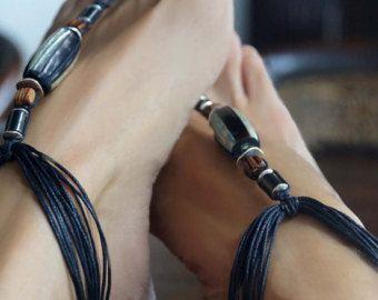 Sandali a piedi nudi boho Boho corpo gioielli gioielli