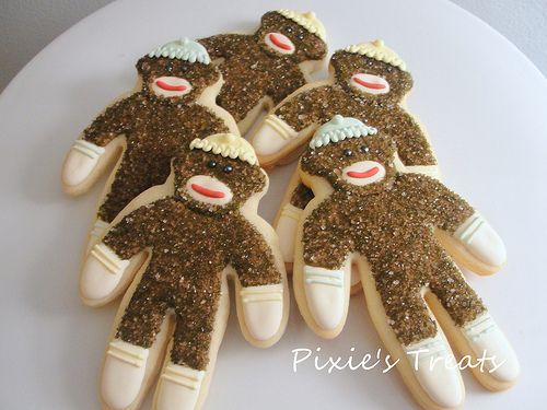 Sock monkey cookies recipe