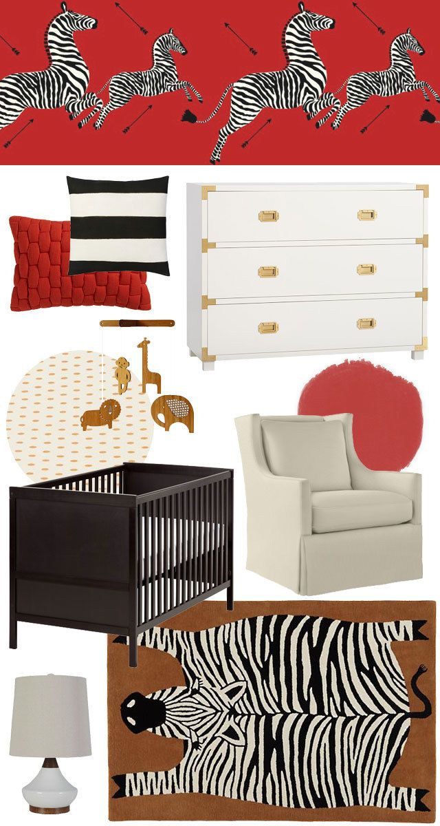 I'm planning a nursery for my son right now, so I have plenty of baby boy nursery ideas swirling around in my head lately. One fun one that I didn't go...