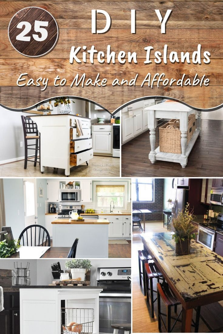 what may seem like a tricky project a diy kitchen island can rh pinterest com