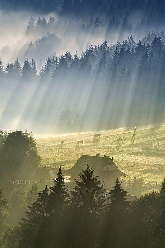 Beskidy mountain's, Poland