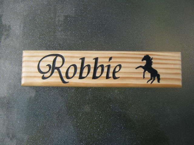 Stable Name Plate