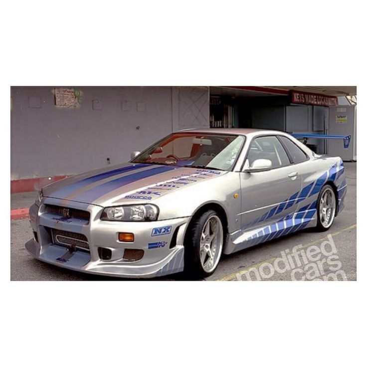 Nissan Skyline GTR As Seen In 2 Fast 2 Furious -Paul