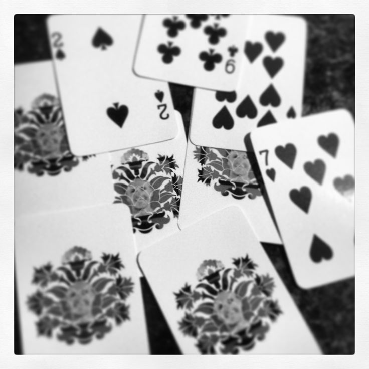 Alice - via Brady Bunch, with non-material aspects - design as playing cards (in B)