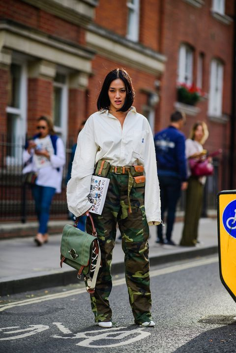 ec0c783a1d London Street Style Spring 2019 - The Best Street Style from London Fashion  Week SS19