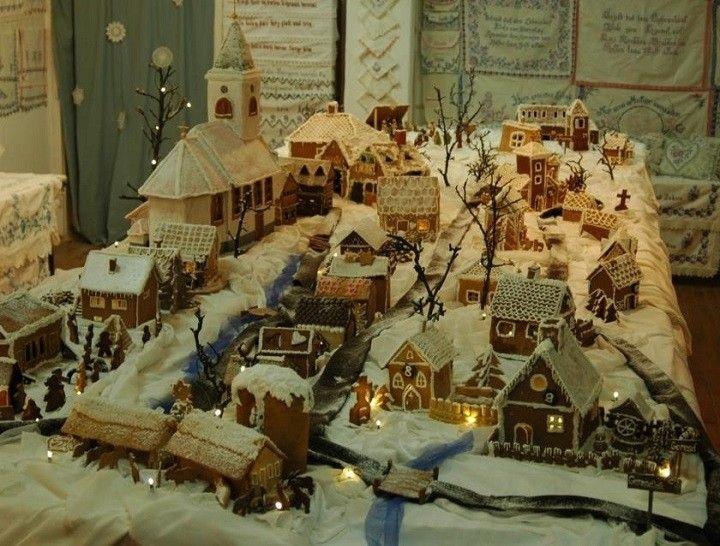 Megcsinálták a magyar falut mézeskalácsból! Csodálatos látvány!