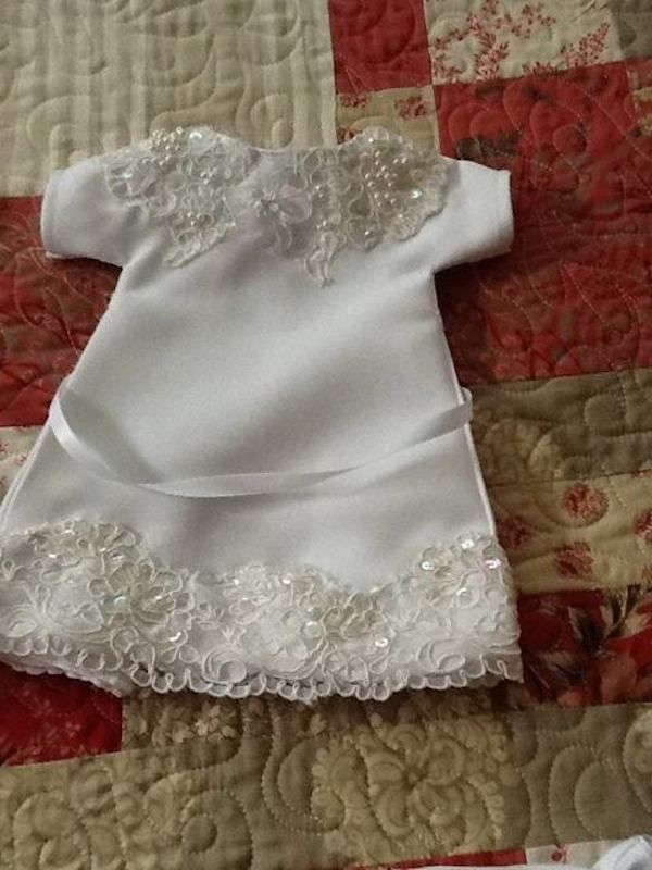 Woman Makes 'Angel Gowns' Out Of Old Wedding Dresses For Babies Who Die As Newborns