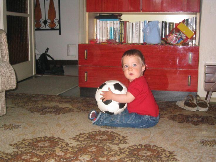First soccer ball, 2004