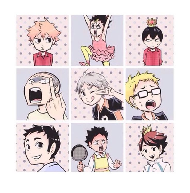 Haikyuu matching profile pictures! XD