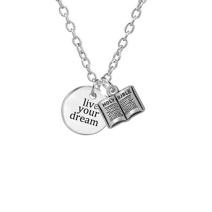 charmed cnssc editorial with charm scroll in lily letter necklace silver shop gifts graduation