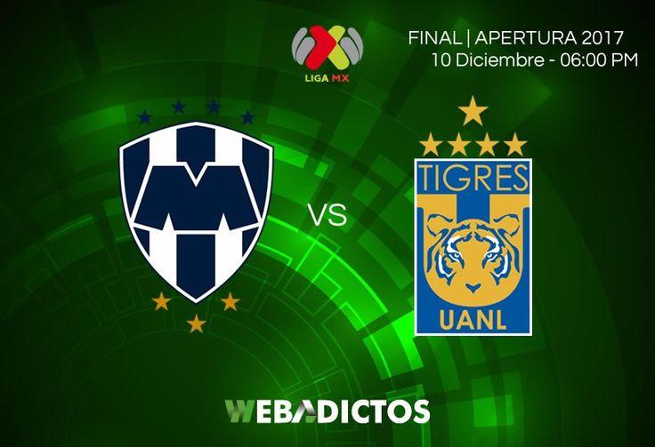 Monterrey vs Tigres, Final del Apertura 2017 ¡En vivo por internet! - https://webadictos.com/2017/12/10/monterrey-vs-tigres-final-apertura-2017/