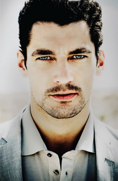 David Gandy for El Palacio de Hierro Father's Day 2010 Catalog