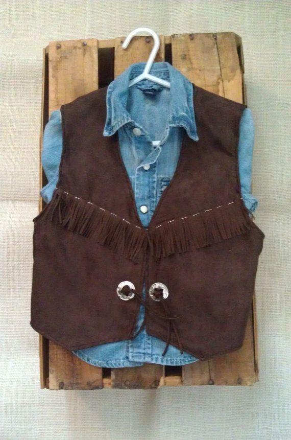infant baby toddler western vest/ cowboy by lilwesternworks, $30.00