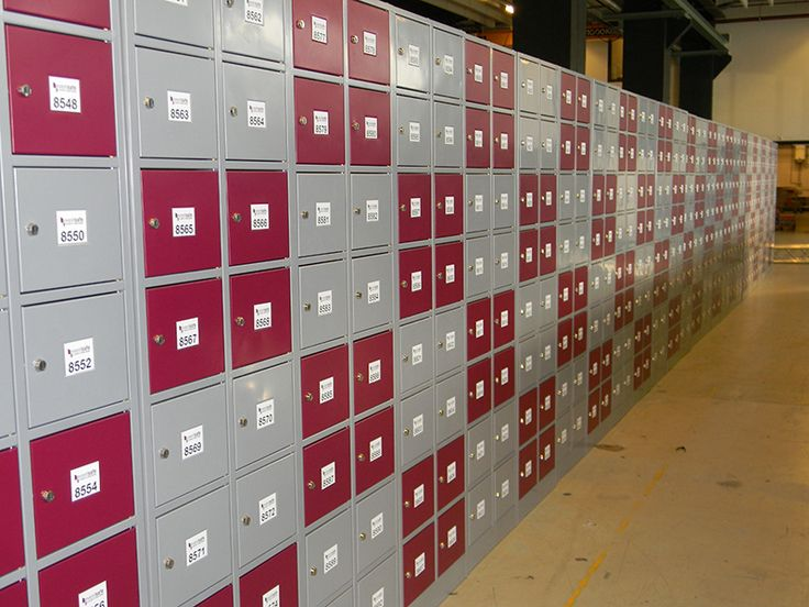 Klokgebouw - Eventsafe lockers