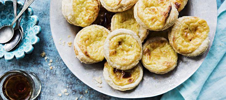 Pastéis de nata eli portugalilainen kermaleivos | Makeat leivonnaiset | Reseptit – K-Ruoka