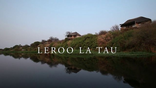 Leroo La Tau by Desert & Delta Safaris. Overlooking the enigmatic Makagdikgadi Pans National Park in #Botswana, perched high upon the banks of the Boteti River is Leroo La Tau.