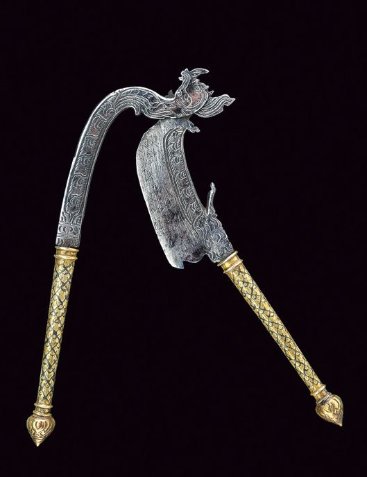 A betel-knife,    	Indonesia,  	circa 1900.