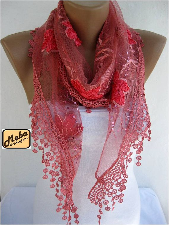 Lace scarf women scarves
