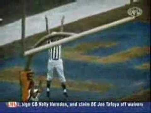63 yard field goal by kicker Tom Dempsey (NFL Record)