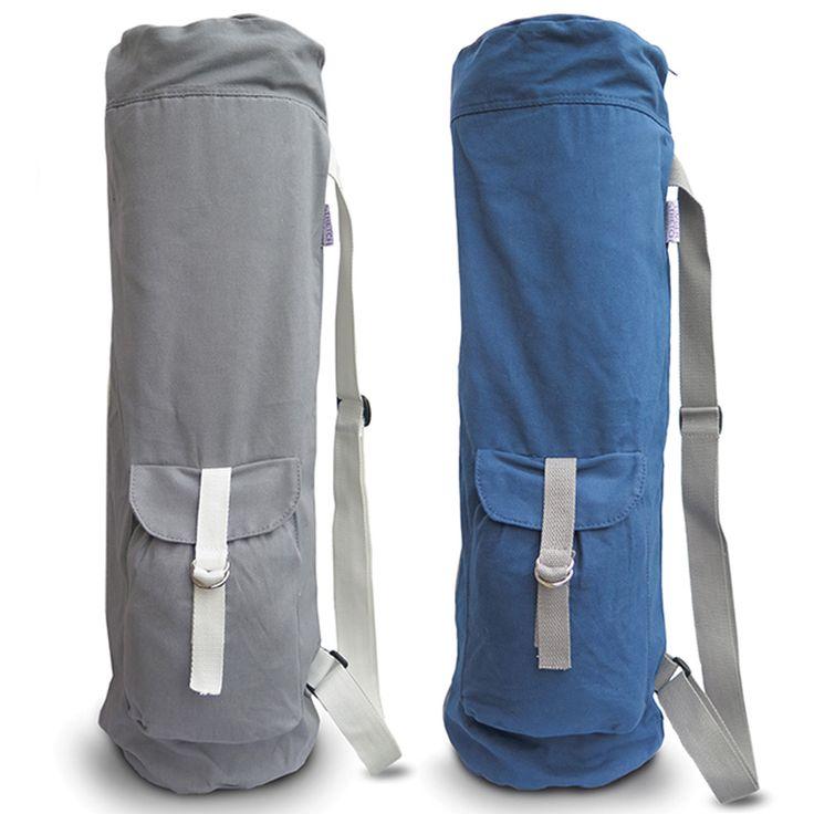 www.limberstretch.com Organic cotton Yoga Mat Bag Extra Large for Men &…