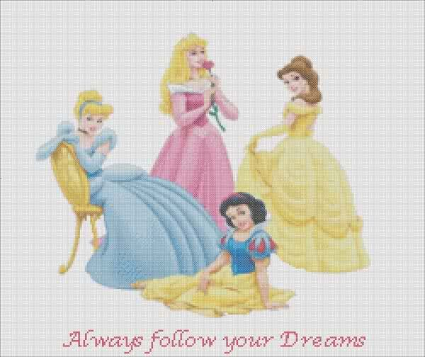 Free Disney Cross Stitch Patterns | To view 100's of all digital cross stitch patterns