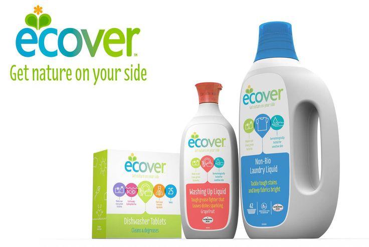 Frissebb, élénkebb, gömbölyűbb! Megújult az ECOVER arculata! Új logó, új szlogen, új csomagolás. Ezentúl új köntösben az öko tisztítószerek, környezetbarát mosószerek...