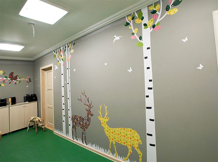 wall design for child