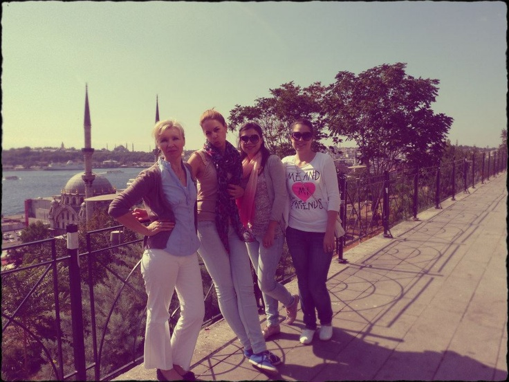 ladies at Istanbul <3