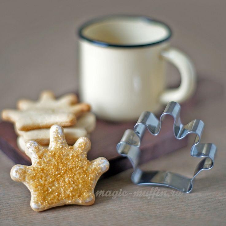 Форма для печенья Корона cookies crown