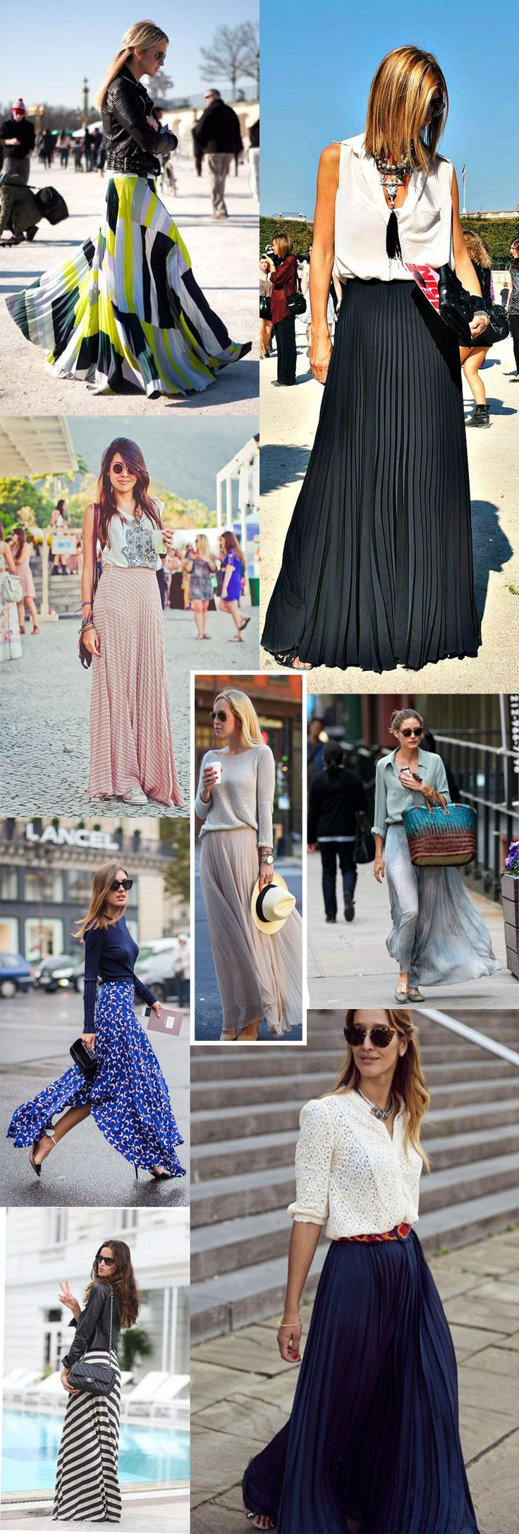 Saias Longas: Achados de Fast Fashion