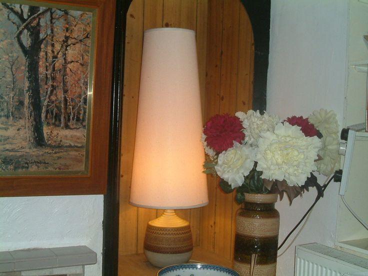 1960 S True Vintage Retro Floor Lamp 43 German Tall Conical Lampshade Retro Floor Lamps Lamp Floor Lamp