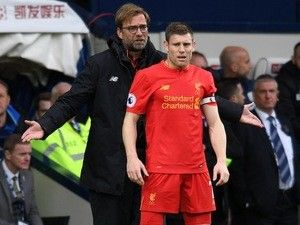 James Milner returns to Liverpool training after recovering from thigh injury
