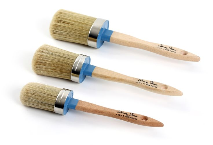 Annie Sloan Malepensler- (Pure Bristle Brushes)