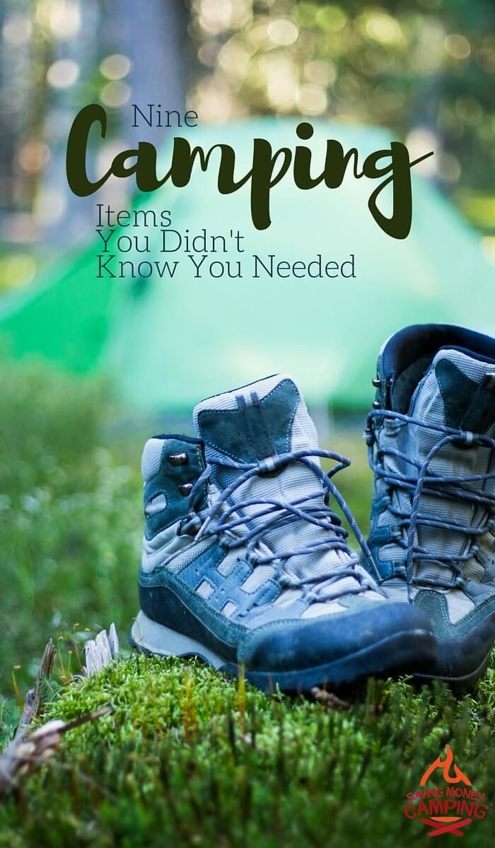 Don't know what to pack? Want to add some awesome (but inexpensive) camping items to your easy packing method? Check out these 9 camping items I can't live without. - Saving Money Camping http://www.savingmoneycamping.com/camping-items-you-didnt-know-you-needed/