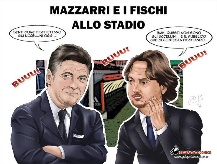 Questa settimana parliamo di #WalterMazzarri e dei fischi che ormai lo accompagnano ad ogni partita dell' #Inter.