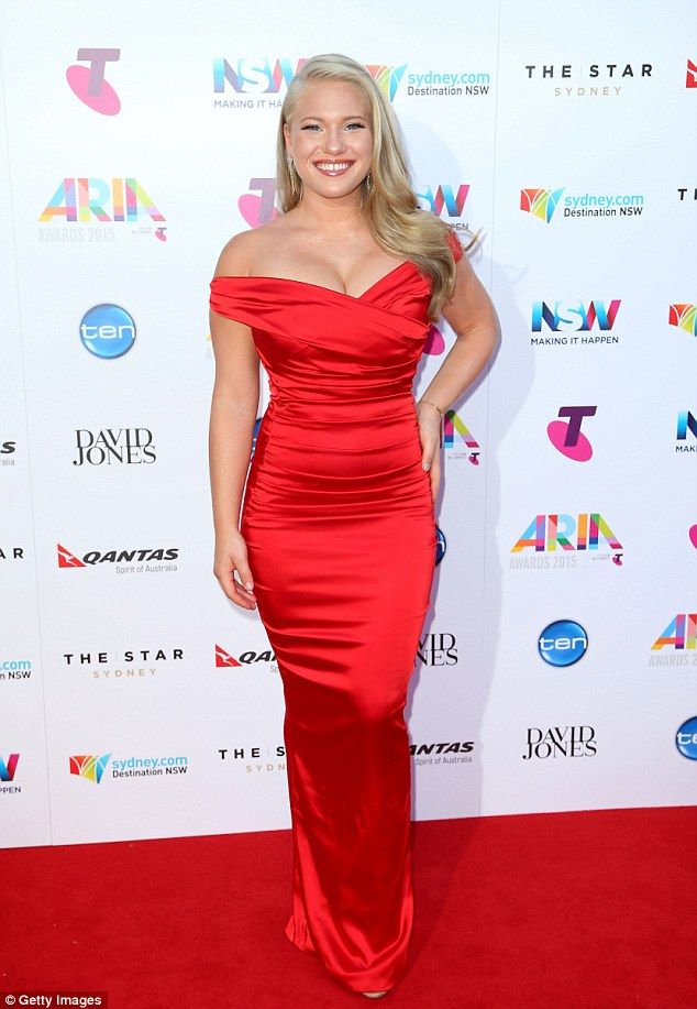 Red hot! On Thursday night at the 2015 ARIA Awards, The Voice's Anja Nissen wowed onlooker...