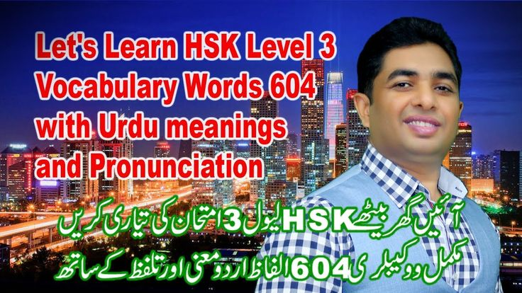 Hsk level 3 complete vocabulary with urduhindi meanings