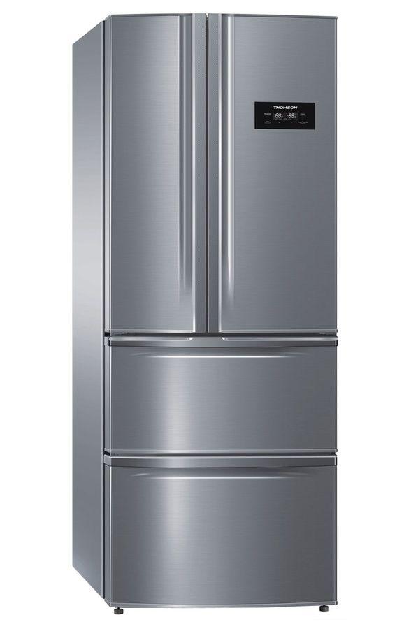 refrigerateur congelateur en bas thomson thm70ix inox