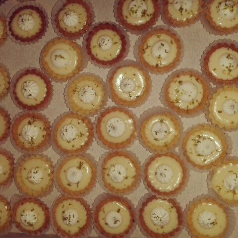 Mini pies de limón