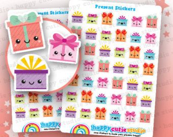 48 schattige MINI Pay dag/Payday GBP Planner Stickers