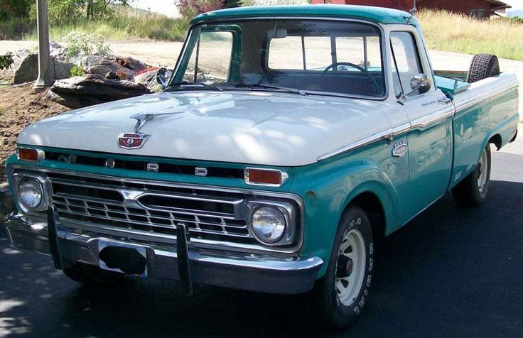 1964 ford truck | 1966 Ford F-100 1/2 ton pickup with 428 CID Cobrajet V-8 and 4 spped ...