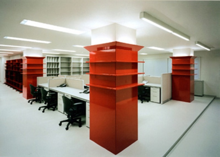 Clever Storage Office Design